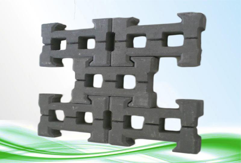 生态植草护坡砖