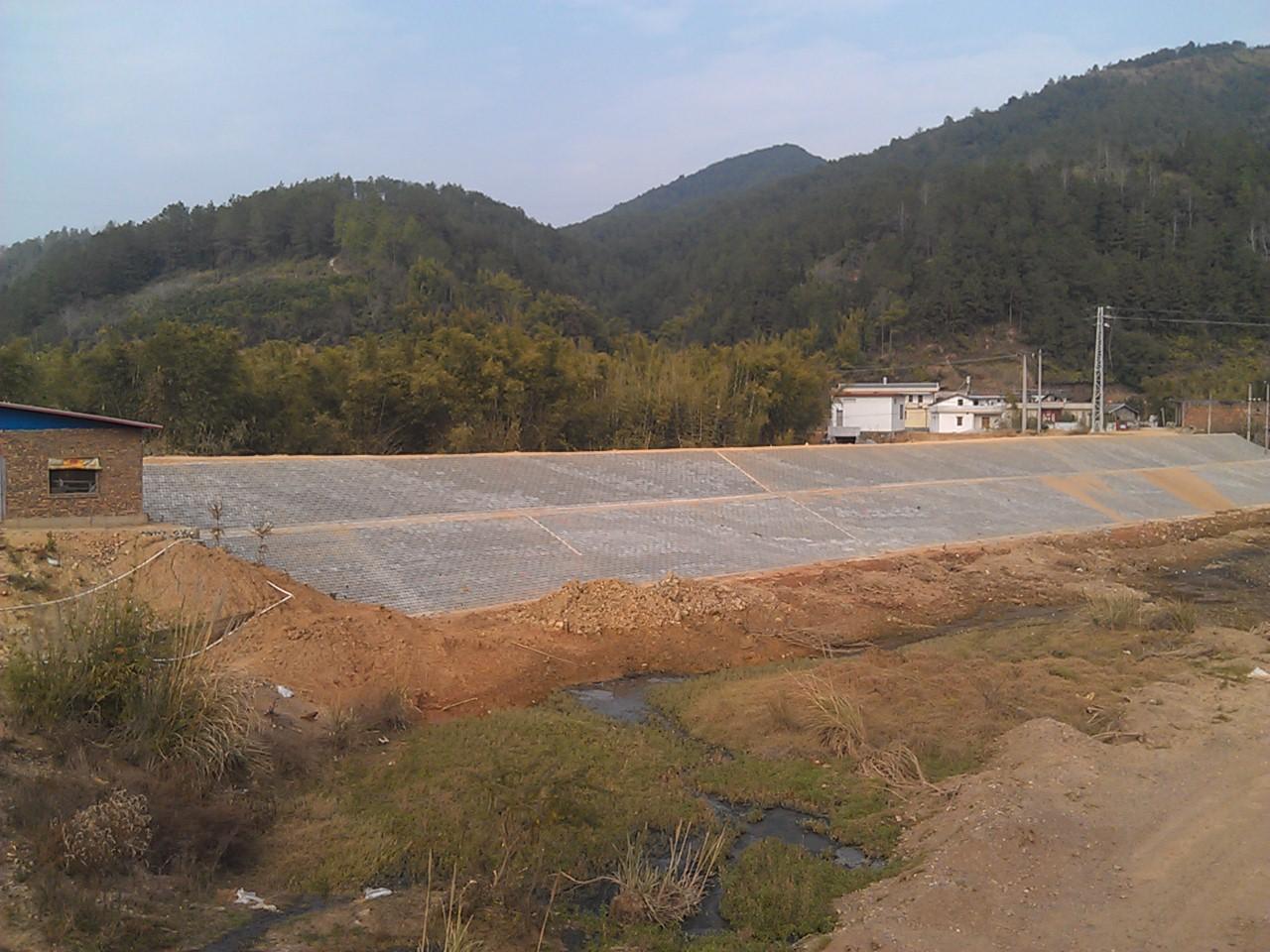 梅州市焦岭护坡工程