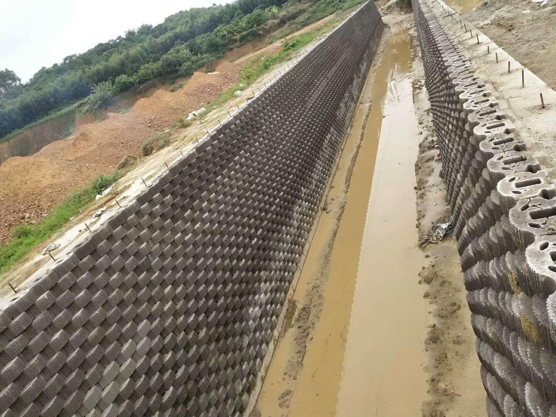官塘排涝渠--挡土墙